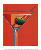 Sunglow Martini I  Fine Art Print