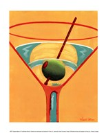 Sunglow Martini III Art