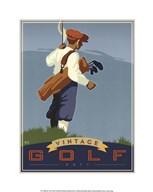 Vintage Golf - Putt  Fine Art Print