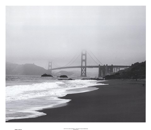 Framed Golden Gate Bridge II Print