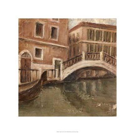 Framed Canal View II Print