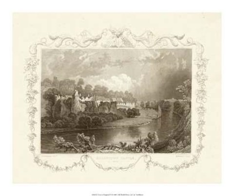 Framed Views Of England VI Print