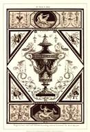 Sepia Pergolesi Urn I Art