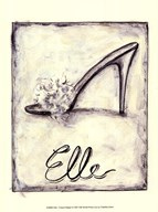 Elle- French Slipper Art