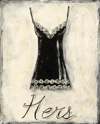 Framed Hers- French Lace Print