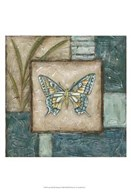 Large Butterfly Montage I  Fine Art Print