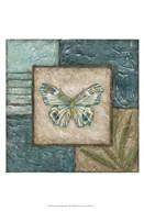 Large Butterfly Montage II  Fine Art Print
