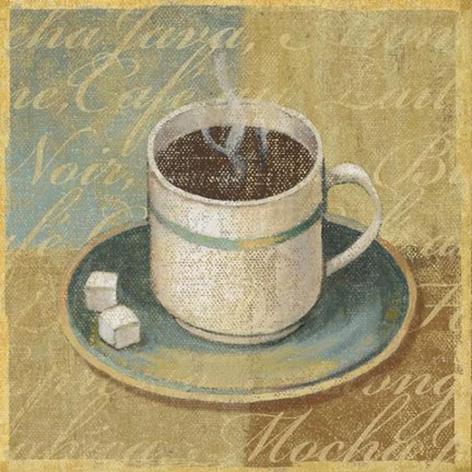 Framed Coffee Blend II Print