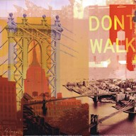 New York I Dont Walk  Fine Art Print