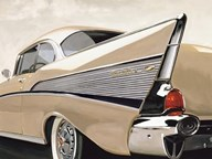 '57 Bel Air  Fine Art Print