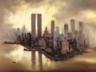 Reflections Of Manhattan Art