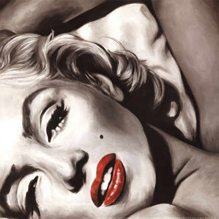 Framed Marilyn Monroe - Allure Print