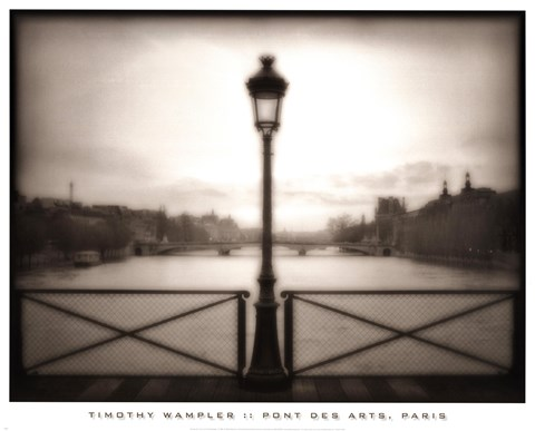 Framed Pont Des Arts, Paris Print