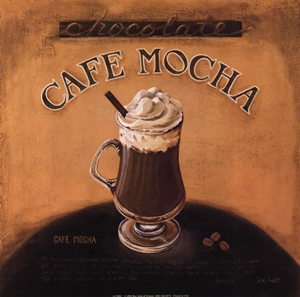 Framed Cafe-Mocha Print