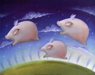 Pigs Will Fly  Fine Art Print