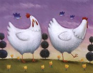 Rob Scotton - Funky Chickens Size 8x10