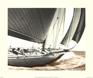 Ranger 1937 Vintage Maritime  Fine Art Print