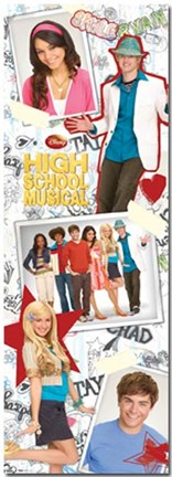 Framed High School Musical - Yearbook Print