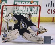 Marc-Andre Fleury Game 3 of the 2008 NHL Stanley Cup Finals Action; #11 Art