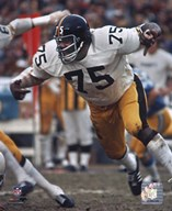 Joe Greene Action  Fine Art Print