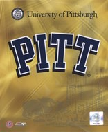 University of Pittsburgh Panthers 2008 Logo  Fine Art Print