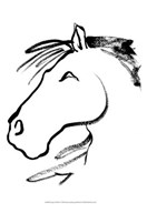 Equine Profile I Art