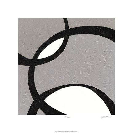 Framed Ellipse III Print
