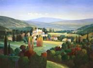 Hills Of Provence  Fine Art Print