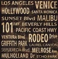 L.A.  Fine Art Print