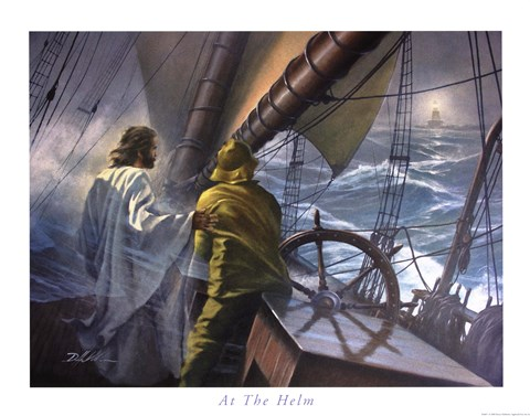 At The Helm Fine Art Print By Danny Hahlbohm At