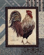 Rooster No.14  Fine Art Print