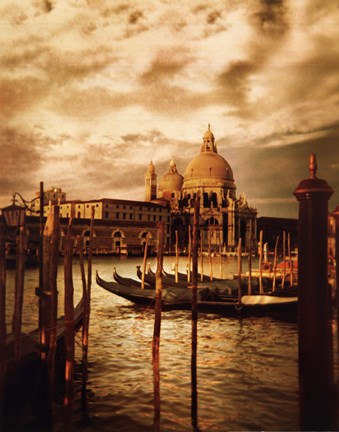 Framed Venezia Sunset II Print