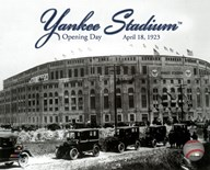 Yankee Stadium 1923 Opening Day With Overlay Art