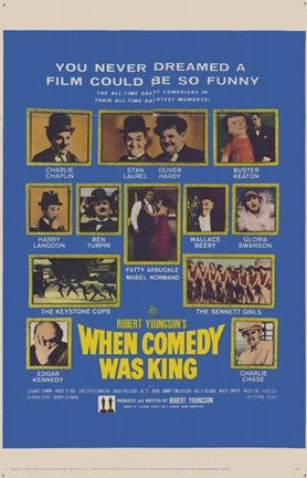 Framed When Comedy Was King Print