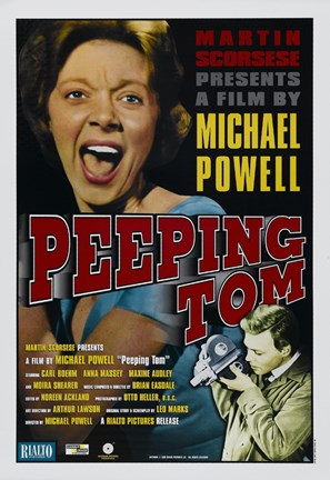 Framed Peeping Tom Michael Powell Print