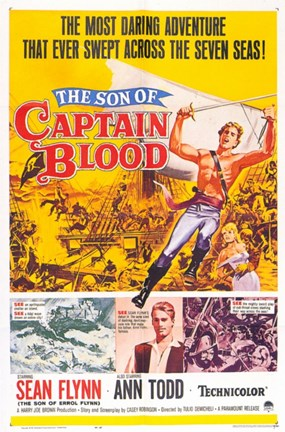 Framed Son of Captain Blood Print
