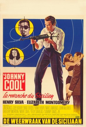 Framed Johnny Cool Print