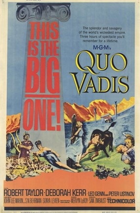 Framed Quo Vadis - this is the big one Print