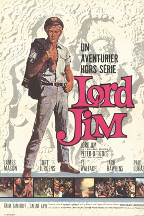 Framed Lord Jim Film French Print