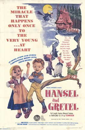 Framed Hansel and Gretel Print