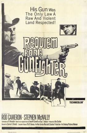 Framed Requiem for a Gunfighter Print