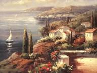 Mediterranean Vista Art