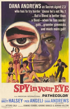 Framed Spy in Your Eye Print