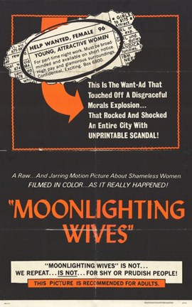 Framed Moonlighting Wives Print