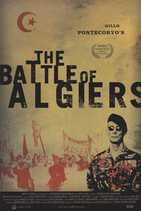 Framed Battle of Algiers Print
