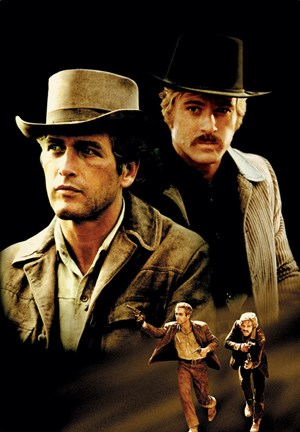 Butch Cassidy And The Sundance Kid Cast Fine Art Print By