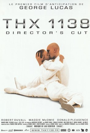 Framed THX-1138 - white Print
