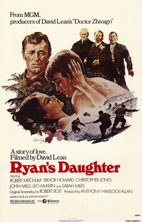 Framed Ryan's Daughter David Lean Print