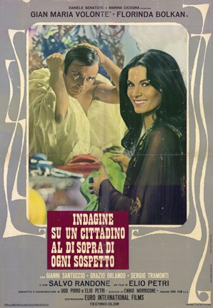 Framed Investigation of a Citizen Above Suspicion Print