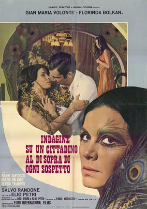 Framed Investigation of a Citizen Above Suspicion - almost kiss Print